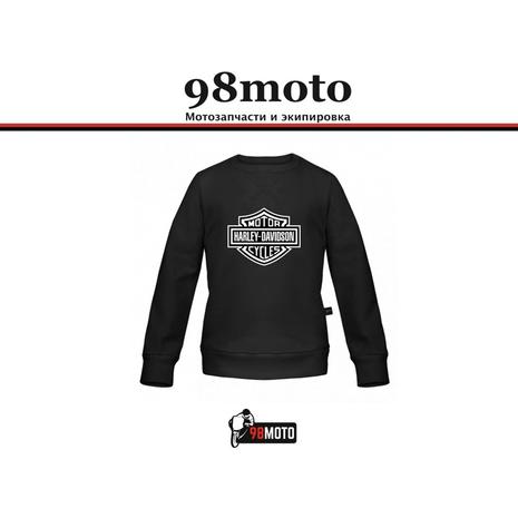 Толстовка Harley Davidson черный, L 2000