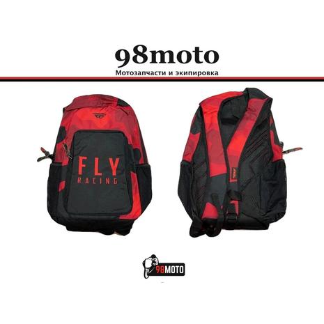 Рюкзак FLY RACING JUMP красный/черный 2400