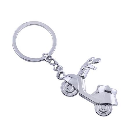 Брелок на ключи Мотороллер хром 300