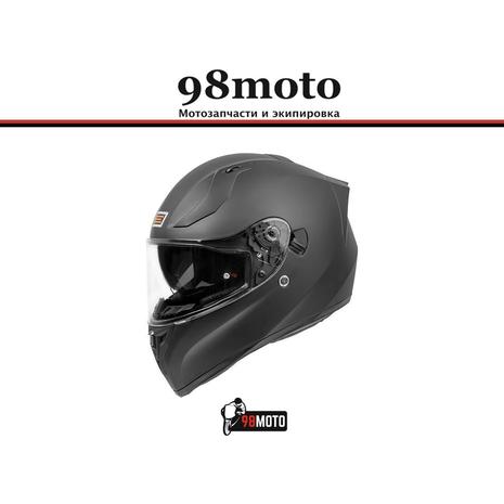 Шлем (интеграл) Origine STRADA Solid черный матовый 7900