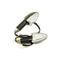 Указатель поворота светодиодный №05 (LED-06) черный TTR-250 (2 штуки) 600